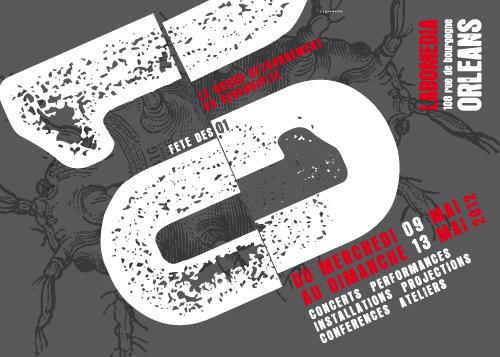 Affiche de la fête des 01 2012